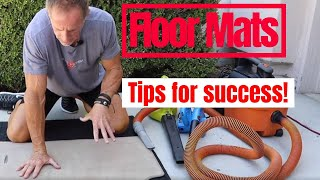 Car Floor Mats: Cleaning tips for success