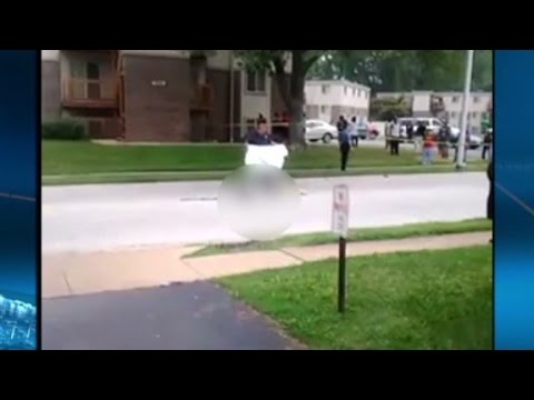 Video shows Michael Brown's body in street