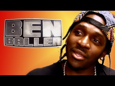 Pusha T Gets Custom Iced Out Dope Boy Style Mercedes Benz Chain Made By Ben Baller!