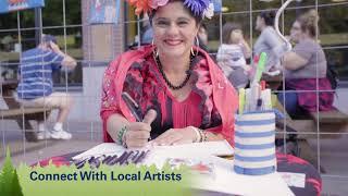 First Friday ArtWalk in Downtown Eugene
