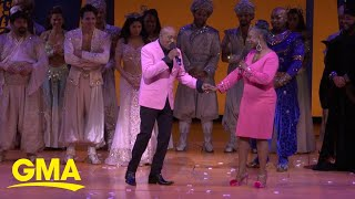 Regina Belle and Peabo Bryson reunite to sing their classic, 'A Whole New World' l GMA Digital