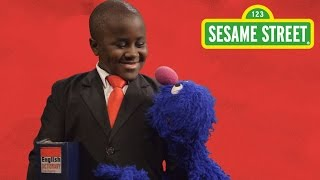 Sesame Street: Five Words to Say More Often with Grover and Kid President