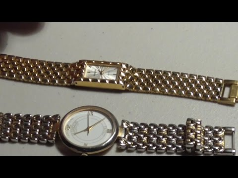 How to open and close snap off watch back cover and change Batteries