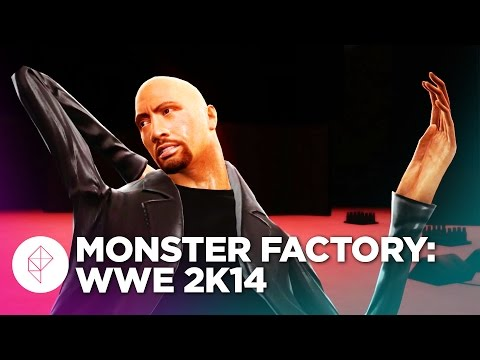 Monster Factory: Failing to Clone The Rock in WWE 2K14
