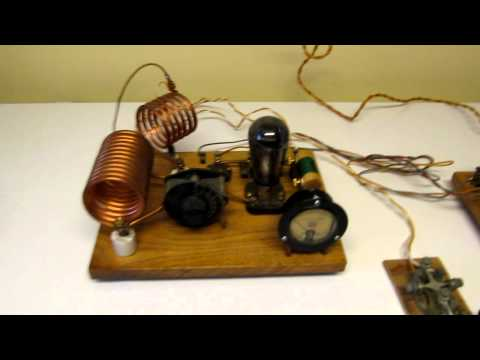 1929 TNT Ham Radio Transmitter