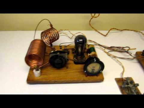 1929 TNT Ham Radio Transmitter