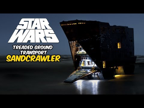 Vote on LEGO CUUSOO for this Sandcrawler MOC