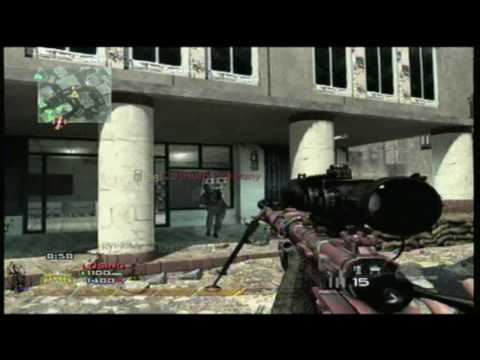 Modern Warfare 2 No Scope Sniper Montage (MW2 100% No-Scopes)