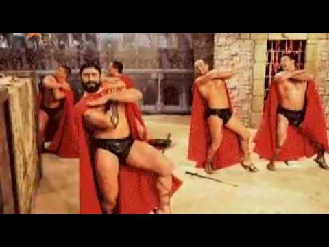 Прикол 300 спартанцев - YouTube