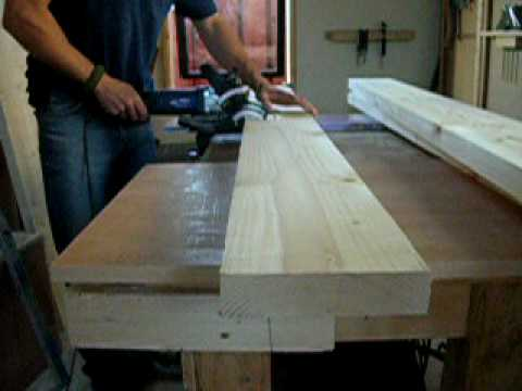 Using Biscuit Jointer