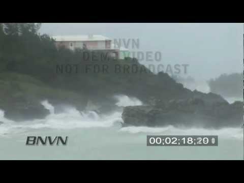 Hurricane Igor 9/20/2010 Aftermath - Stock Video