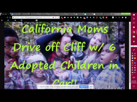 Washington Mothers Drive off California Cliff with their 6 Adopted Kids in Car!!