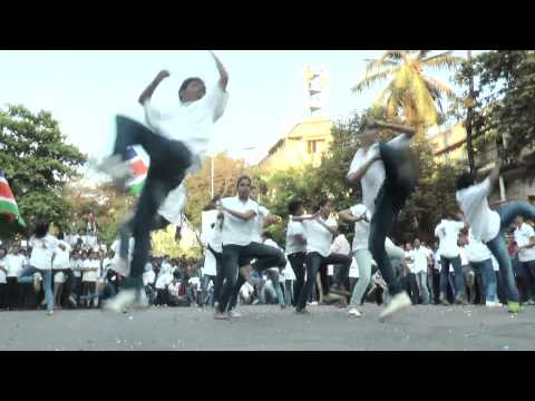 Maharashtra Navnirman Sena's Flash Mob At Shivaji Park, Dadar video