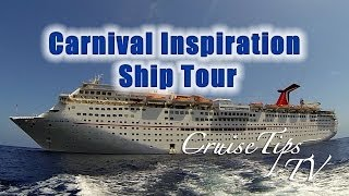 CruiseTipsTV Carnival Inspiration Ship Tour