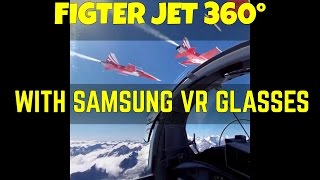 Virtual Reality Jet Fighter  F-16 (VR) 360°