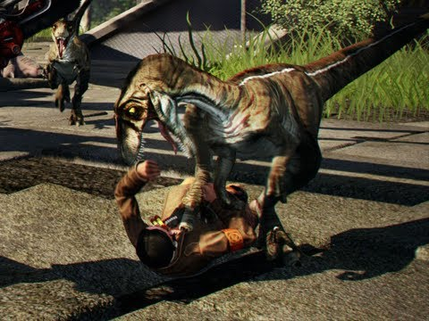 T-Rex Is A Bully (Primal Carnage)