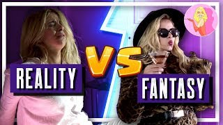 Get ready with me.. Fantasy vs Reality | Jenny Melita