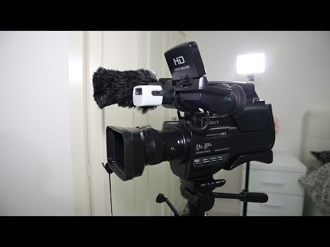 Sony HXR MC2500 Closer look | Settings | Overview