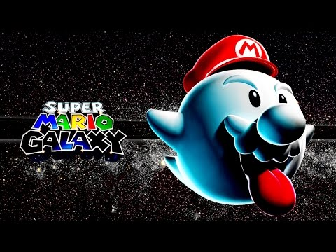 Super Mario Galaxy - Um dos melhores jogos da Nintendo - HD gameplay