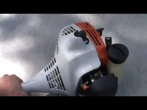 how to fix stihl trimmer
