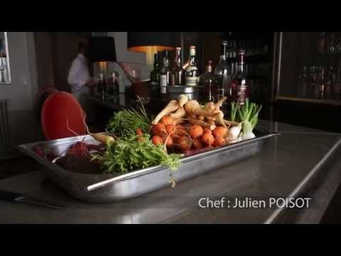 Restaurant : Le Château de Mercues – CHEF : Julien POISOT
