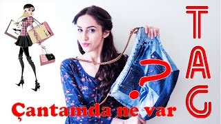 TAG: Çantamda Ne Var? | What