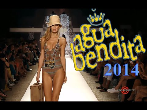 Agua Bendita Swim 2014 Runway Show - Bikinis, Accessoties, Swimwear, hot girls
