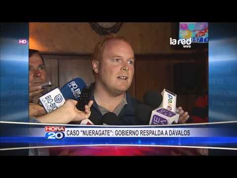 Gobierno respalda a cuestionado hijo de Michelle Bachelet