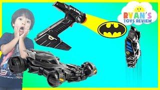 Batman vs Superman Remote Control Toy Cars