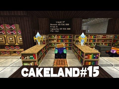 CakeLand FTB #15: Фабрика Зачарований и Оптимизация Базы!