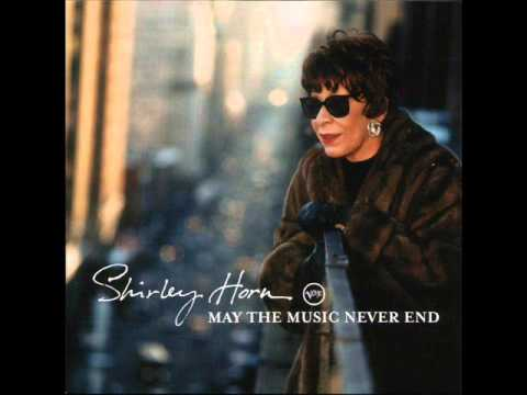 『 QUIETLY THERE �     by  THE GREAT�  ~SHIRLEY HORN~