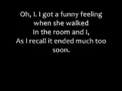 Oh What A Night lyrics