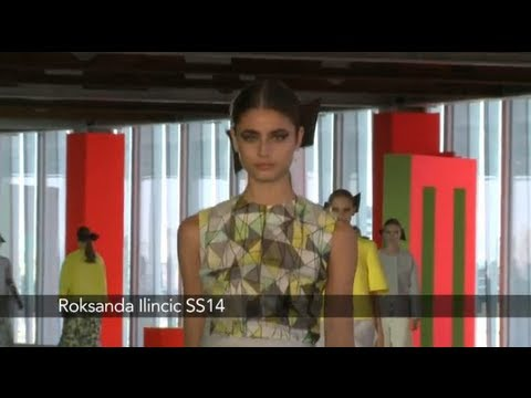 Roksanda Ilincic London Fashion Week show: Roksanda Ilincic SS14 Collection