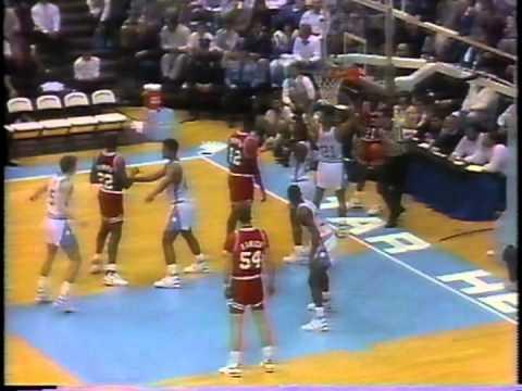 02/07/1990:  NC State Wolfpack At North Carolina Tar Heels