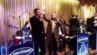 Mordy Shapiro and Lipa Schmeltzer Singing at a Wedding