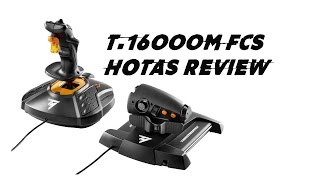 Ralfi's Alley- Thrustmaster T.16000M FCS HOTAS Review