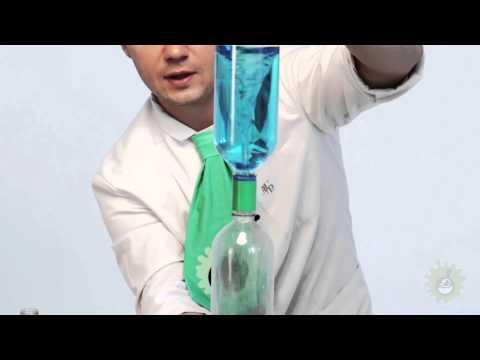 Научное шоу. Торнадо внутри бутылки