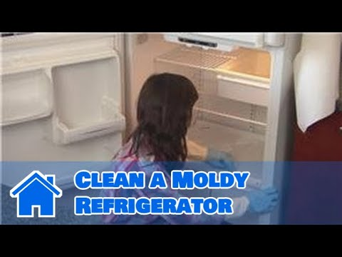 household cleaning how to clean a moldy refrigerator youtube. Black Bedroom Furniture Sets. Home Design Ideas