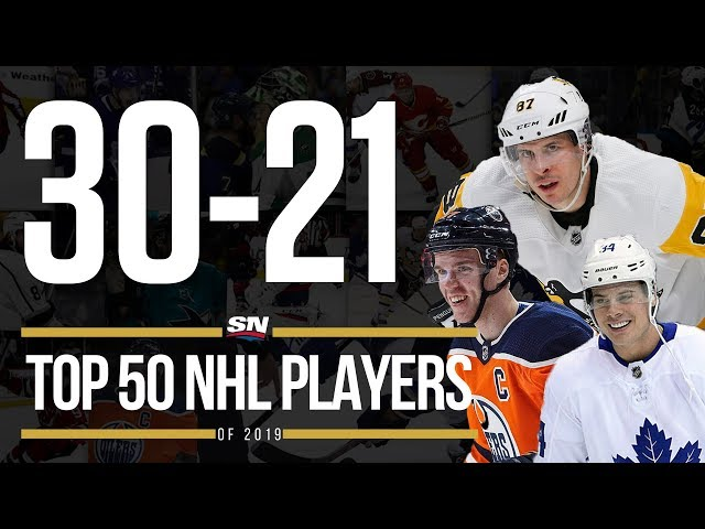 Top 50 NHL Players of 2019 - 30-21