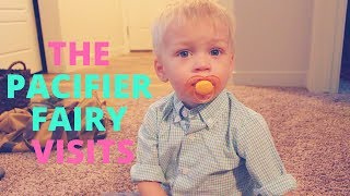 Cooper gets a visit from the Pacifier Fairy