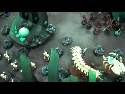 Pale Necrons vs Dark Eldar 01 Warhammer 40K Battle Report