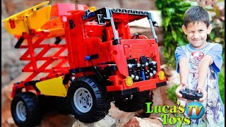 Cada Technic Remote Controlled mixer truck / Luca's biggest lego technic truck 814 pieces