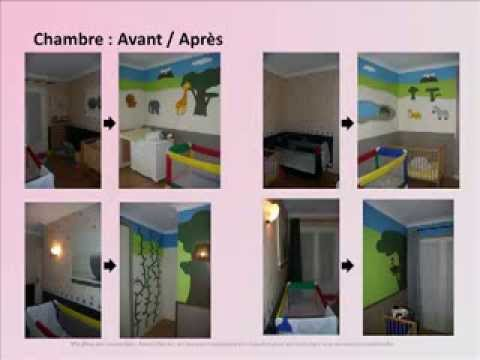 Chambre pour assistante maternelle youtube for Amenagement chambre bebe 9m2