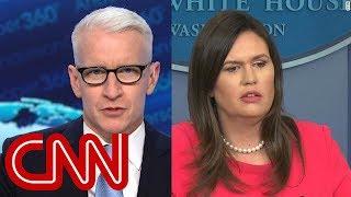 Anderson Cooper: Sarah Sanders is wrong