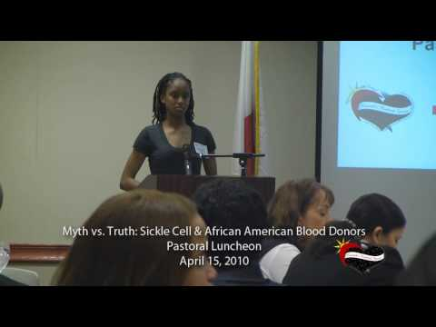 Sickle Cell & African American Blood Donors Pastoral Luncheon Pt 1