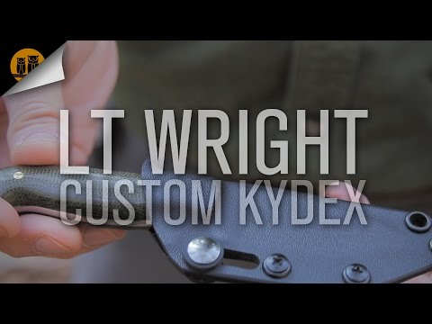 L.T. Wright Custom Patriot Kydex   EDC Fixed Blade   Field Review