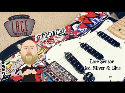 Lace Sensor Gold vs Silver Lace Sensor Red Silver Blue