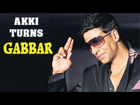 Akshay Kumar turns Gabbar Singh