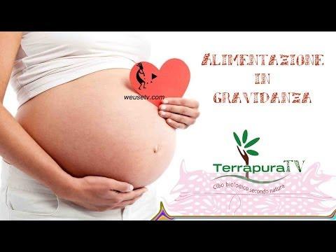 alimentazione in gravidanza prime settimane