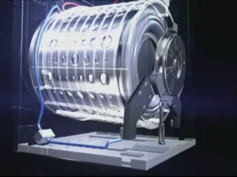Lg direct drive steam washing machines youtube for Washing machine drive motor